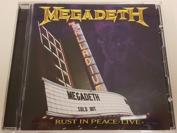 rust in peace live cover