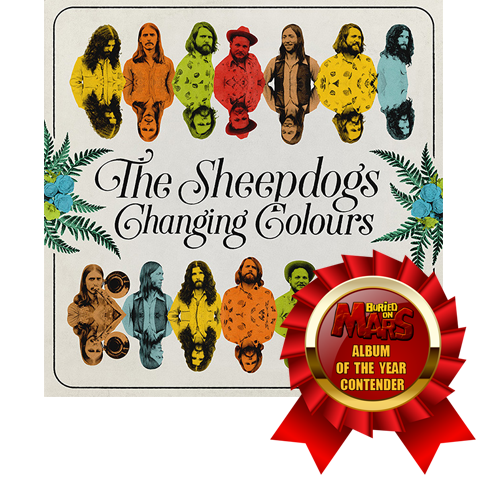 sheepdogs changing colours album of the year contender