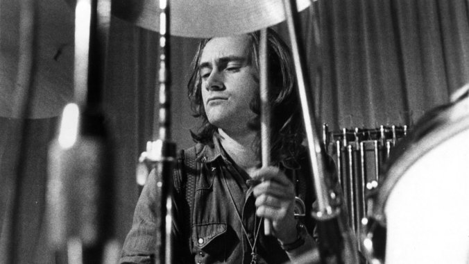 Phil Collins Recording In Genesis