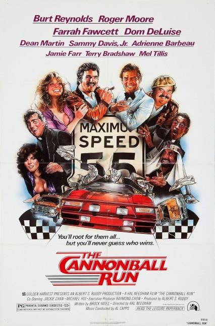 cannonball run 1 poster
