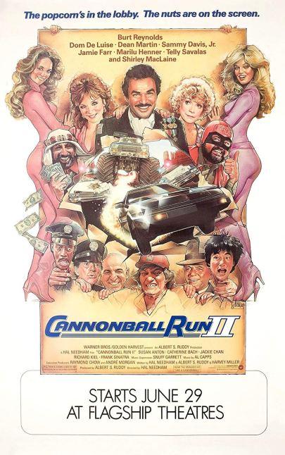 cannonball run 2 poster