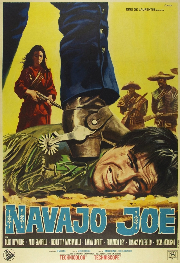 navajo joe film poster