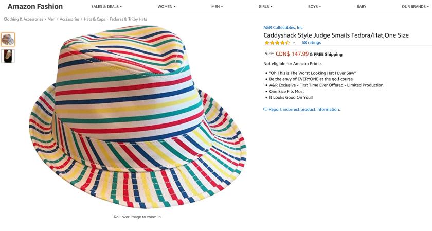 caddyshack hat