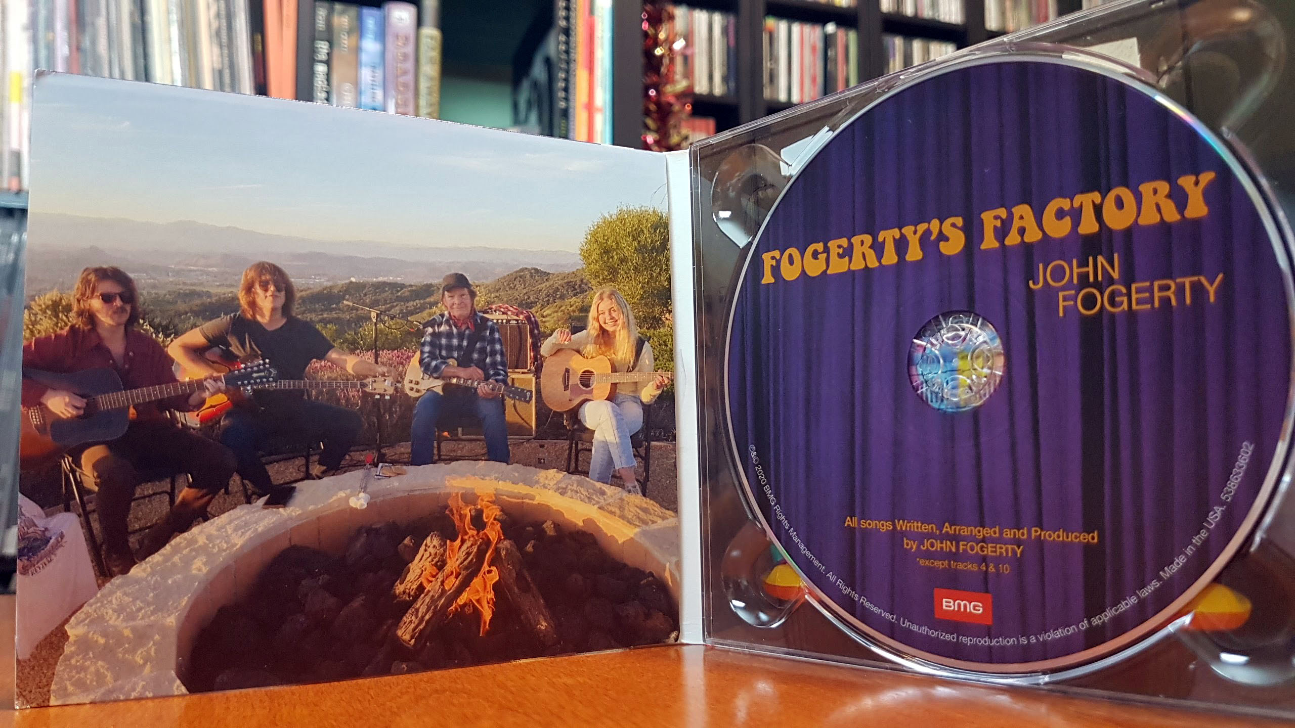 Fogerty's Facotry - Cover inside