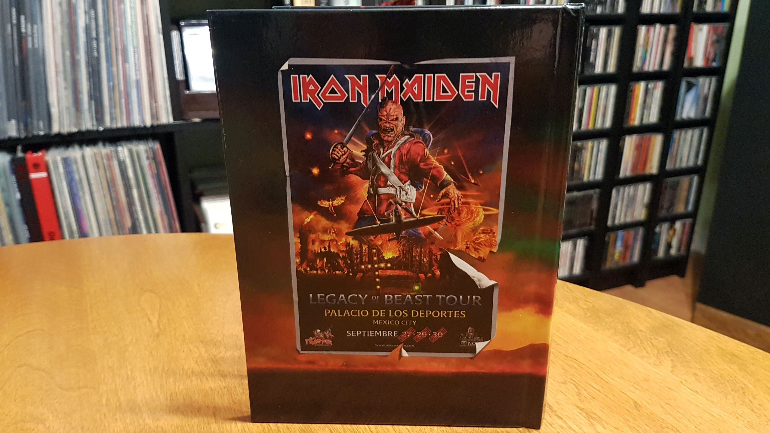 iron maiden book back
