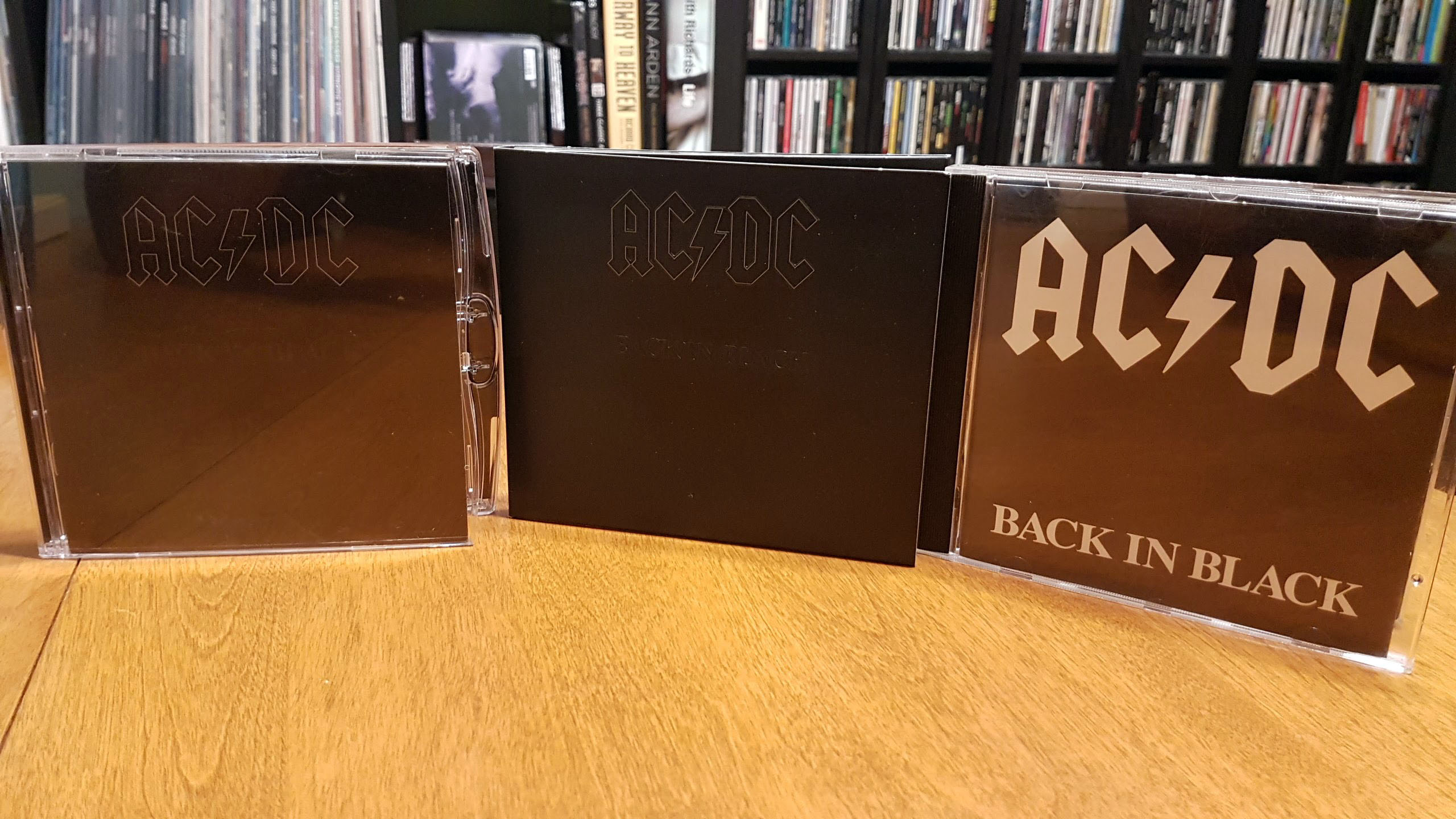 back in black dualdisc lineup